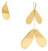 Ellery Poet gold-plated earrings