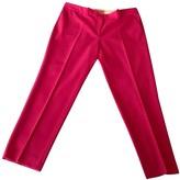 Michael Kors Pink Wool Trousers for Women