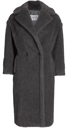 Max Mara Teddy Wool & Alpaca Double Breasted Coat