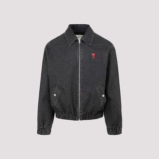 Ami de Coeur Embroidered Denim Worker Jacket
