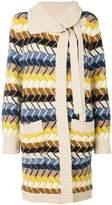 Chloé long knitted cardigan