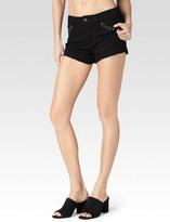Paige Keira Short - Black Hawk Laced Grommet