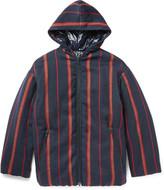 Dries Van Noten Oversized Striped Twill Jacket