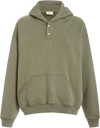 Fear Of God Everyday Henley Cotton Hoodie