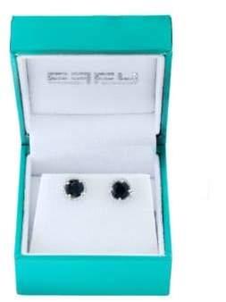 Effy Super Buy 14K White Gold, Diamonds and Sapphire Stud Earrings