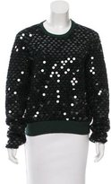 Cédric Charlier Patterned Sequin Sweater
