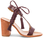 Zimmermann Scallop Tie Heel in Burgundy. - size 36 (also in 37,38,39)
