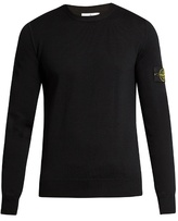 Stone Island Crew-neck Wool Sweater