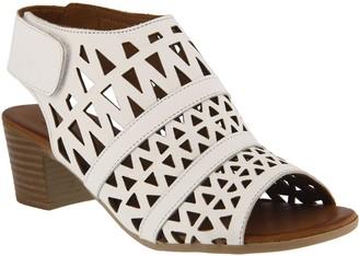 Spring Step Leather Sandals - Dorotha