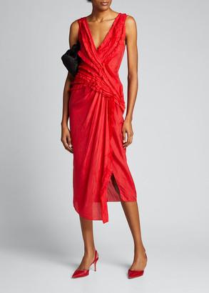 Jason Wu Collection Silk Habutai Cocktail Dress