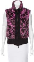 Etro Fur & Wool Vest