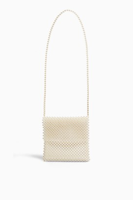 Topshop PANDORA Pearl Cross Body Bag