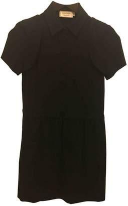MAISON KITSUNÉ Black Wool Dresses