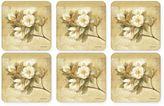 Pimpernel Sugar Magnolia Coasters (Set of 6)