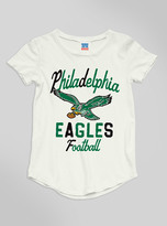 Junk Food Clothing Kids Girls Nfl Philadelphia Eagles Tee-sugar-xs