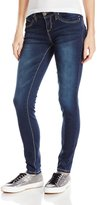 YMI Jeanswear Junior's Wannabettabutt Heavy Stitch Skinny
