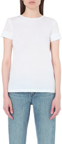 Helmut Lang Distressed jersey and cashmere blend t-shirt