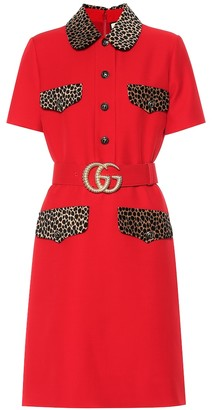 Gucci Wool and silk dress