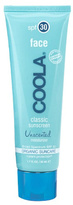 Coola Classic Sunscreen Face SPF30 Unscented Moisturiser