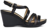 Geox New Rorie Leather Wedge Sandals