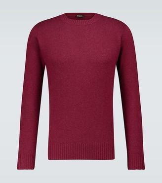 Loro Piana Shetland cashmere crewneck sweater