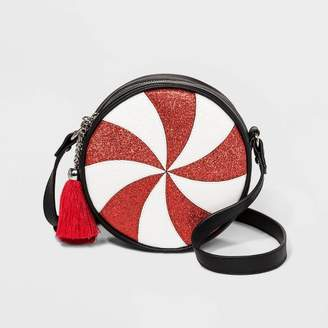 Mad Love Peppermint Crossbody Bag - Red