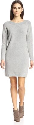 Gat Rimon Women's Back V Sweater Dress