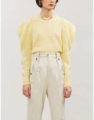 Isabel Marant Ivelyne mohair-blend jumper