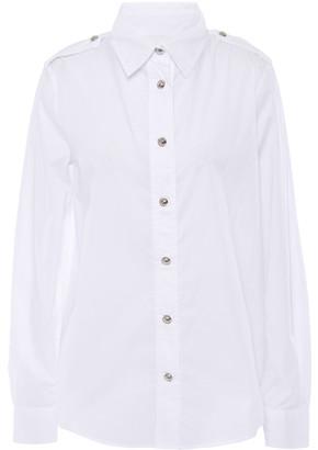 Love Moschino Stretch-cotton Poplin Shirt
