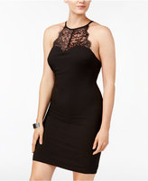 Jump Juniors' Lace-Back Bodycon Dress