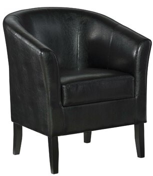 Latitude Run Lapithos Club Chair Upholstery Color: Brown