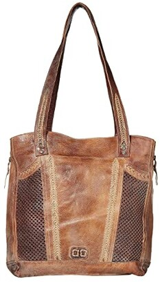Bed Stu Amelie (Tan/Teak Mason BFS) Tote Handbags