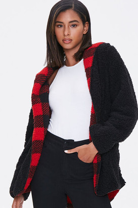 Forever 21 Reversible Buffalo Plaid Jacket