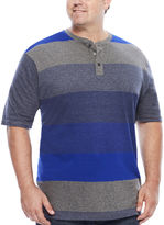 Lee Short-Sleeve Engineer Henley Tee - Big & Tall