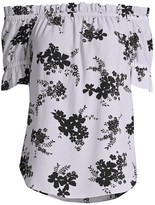 MICHAEL Michael Kors Off-The-Shoulder Floral Top