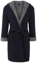 George Hooded Fleece Dressing Gown