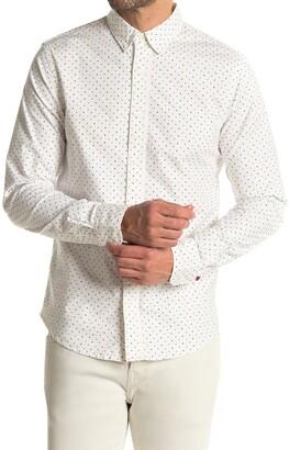 Scotch & Soda Oxford Long Sleeve Regular Fit Shirt