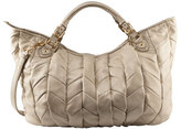 Large Quilted Chevron Hobo