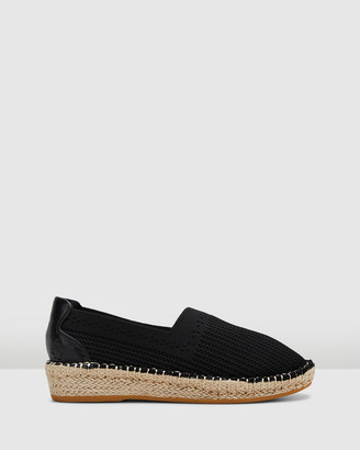 Hush Puppies Women's Black Espadrilles - Baha - Size One Size, 5 at The Iconic