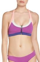 Maaji Women's Orchid Bash Reversible Bikini Top