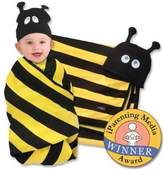 Sozo Beehave Swaddle Blanket And Cap Set By