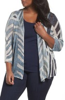 Nic+Zoe Plus Size Women's Shore Pine Cardigan