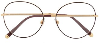 Dolce & Gabbana Eyewear Round-Frame Glasses