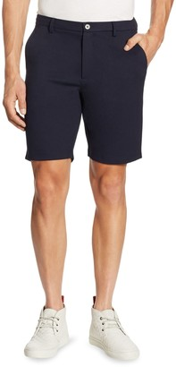 Saks Fifth Avenue Flat-Front Shorts