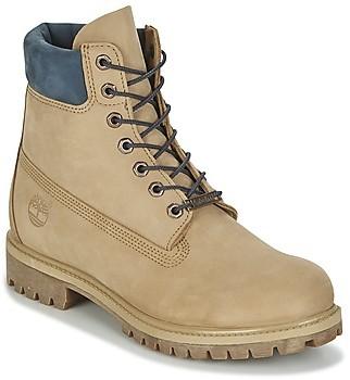 """Timberland 6"""" PREMIUM BOOT men's Mid Boots in Beige"""