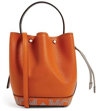 MCM Mini Leather Milano Drawstring Bag