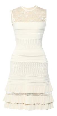 Elie Saab Ecru Viscose Dresses