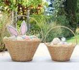 Pottery Barn Kids Small Gold Rope Easter Basket
