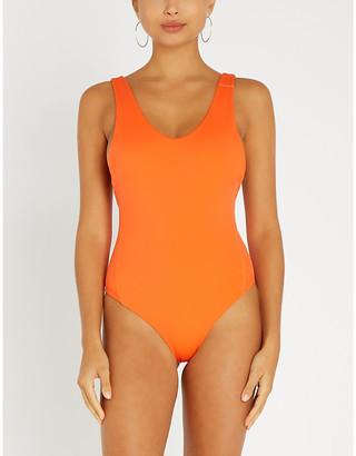 Stay Wild Swim Scoop-neck swimsuit