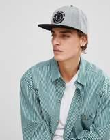 Element Knutsen Snapback Cap In Gray